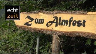 Almfest auf der Schwarzenbergeralm