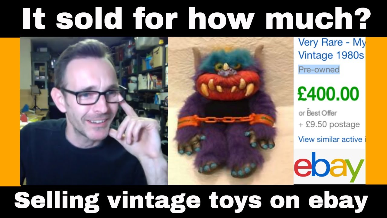 Selling Vintage Toys On Ebay Lets Look Up Some Prices Youtube
