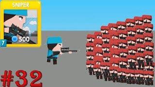 Clone Armies - Gameplay Walkthrough Part 32 - Sniper Fight Arena (iOS, Android)