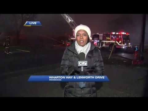 Video: Ontario Fire Marshal's office to investigate Mississauga fire