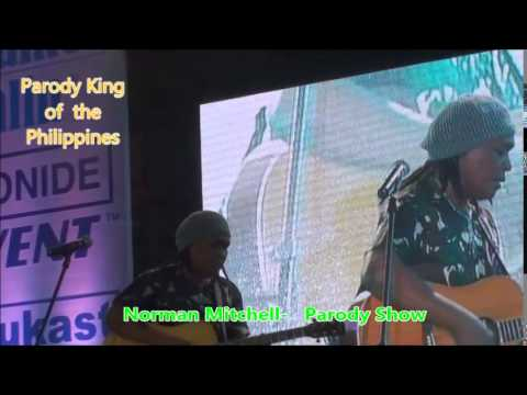 Norman Mitchell   Singer Parody Comedy King sings Faithfully Comedy in Manila Philippines