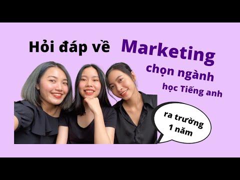 Q&A: Học Marketing ở NEU, Chọn ngành, học Tiếng Anh. 1 năm sau khi ra trường