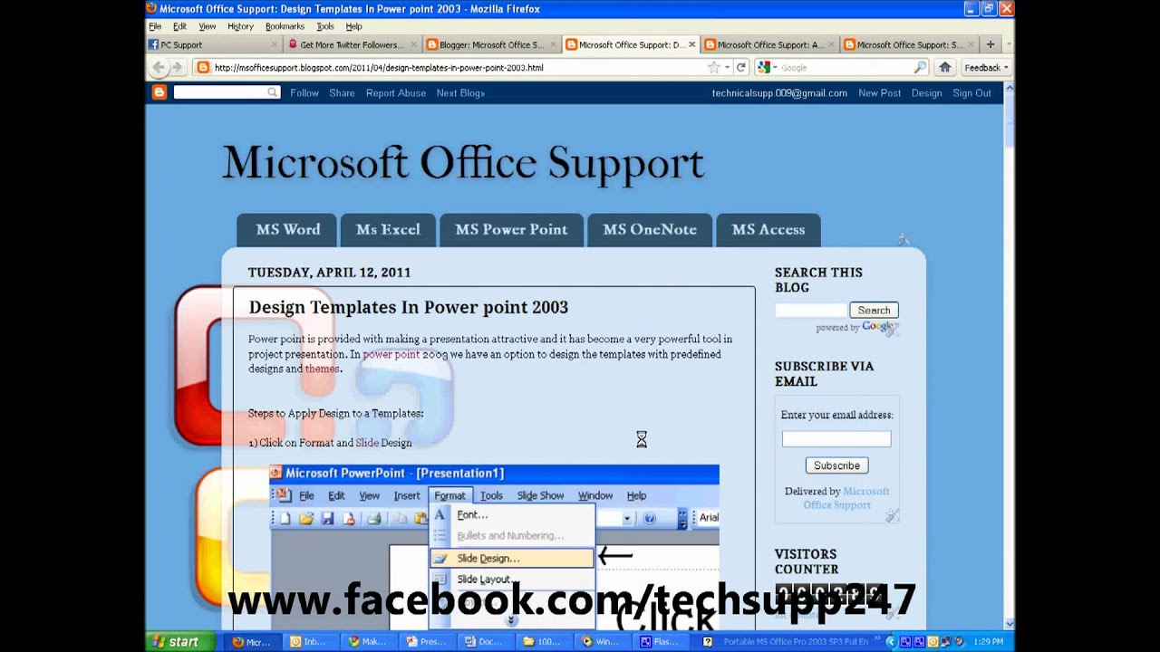 Design templates in powerpoint 2003 youtube design templates in powerpoint 2003 toneelgroepblik Images