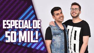 LIVE: COMEMORANDO OS 50 MIL INSCRITOS! | Virou Festa