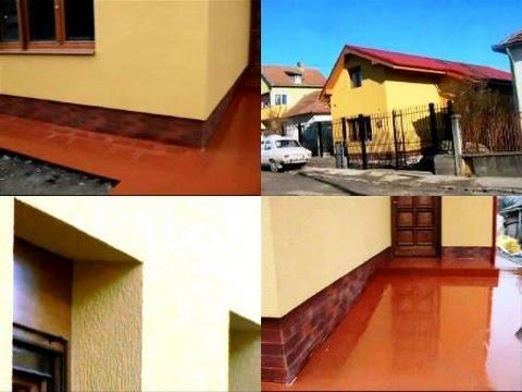 Imagini Tencuiala Decorativa Exterior.Amenajari Exterioare Imagini Casa Izolata Cu Polistiren Tencuiala