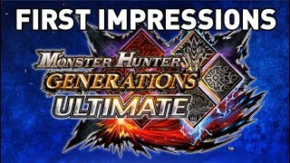 Monster Hunter Generations Ultimate Switch Demo: First Impressions