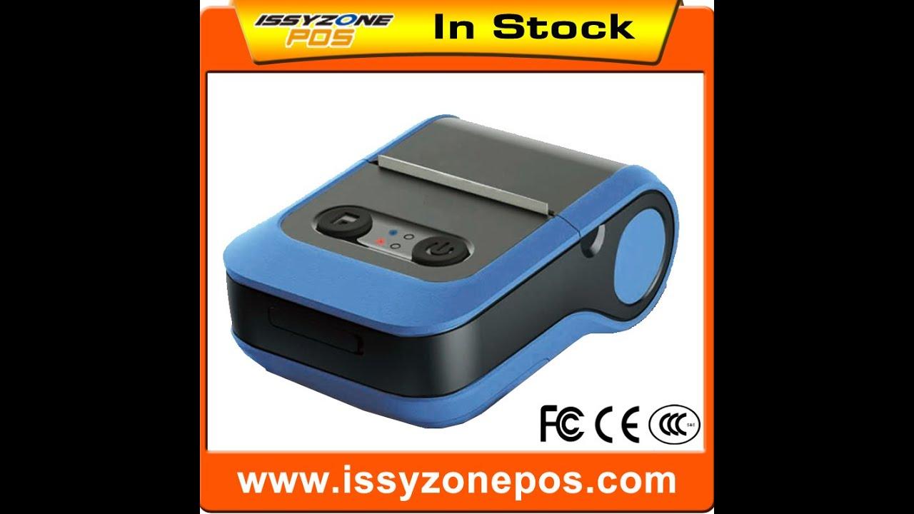 2 inch thermal portable label printer 58mm thermal printer bluetooth