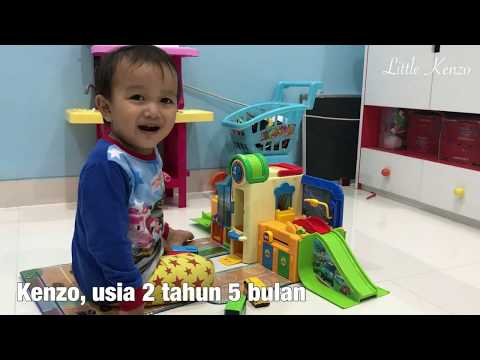 Mainan Anak Tayo The Little Bus Playset | Little Kenzo Anak Lucu Belajar Bicara | Bikin Kalimat