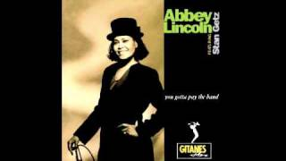 "Abbey Lincoln feat. Stan Getz - ""Up Jumped Spring"""