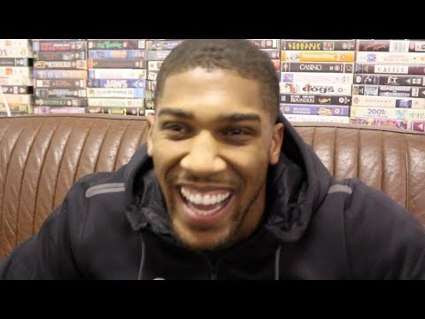 ANTHONY JOSHUA - I'LL SLAP WILDER AROUND THE RING! / I WILL KO FURY! -27 STONE, IM THE WEIGHTLIFTER?