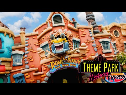 The Theme Park History Express of Roger Rabbit's Car Toon Spin (Disneyland/Tokyo Disneyland)