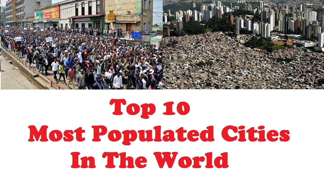 most populated city in the world
