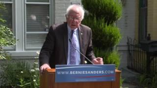 Student Debt Press Conference | Bernie Sanders