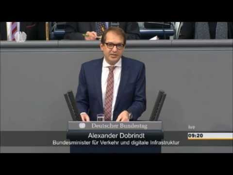 Inhaltsleerer Dobrindt blamiert sich bei Debatte zur PKW-Maut