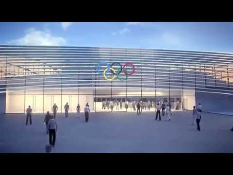 National Speed Skating Hall for 2022 Olympic Winter Games in Beijing, China