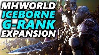 Monster Hunter World ICEBORNE G-RANK MASSIVE Expansion | WITCHER Crossover, #MHWorld ULTIMATE