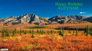 Aleynah   Nature Birthday