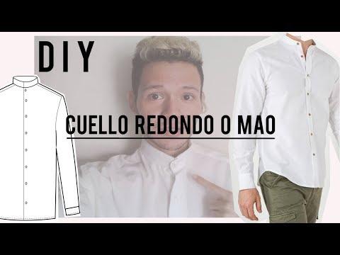D I Y // Cuello Redondo o Mao en camisas (Fácil y rápido)