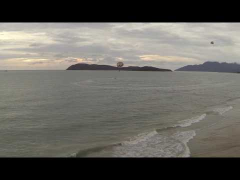 Langkawi Island Beach Drone Flight at Holiday Villa
