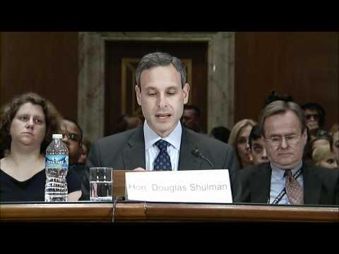 IRS Commissioner Doug Shulman