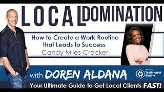 كيفية إنشاء روتين العمل الذي يؤدي إلى النجاح ث/حلوى ميل-كروكر   المحلية الهيمنة بودكاست