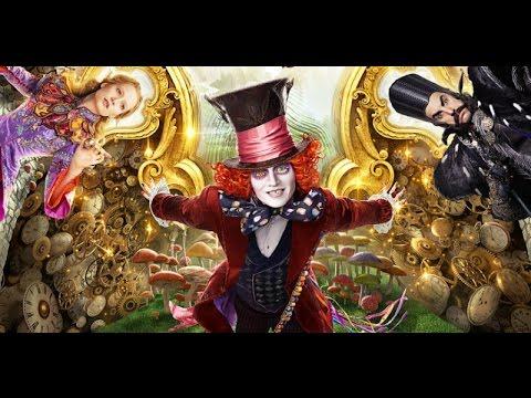 алиса в зазеркалье фильм 2016 на английском