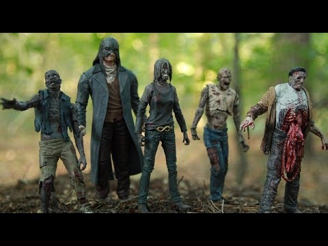 Alpha and Beta The Walking Dead Whisperers McFarlane Figures Skybound Exclusives