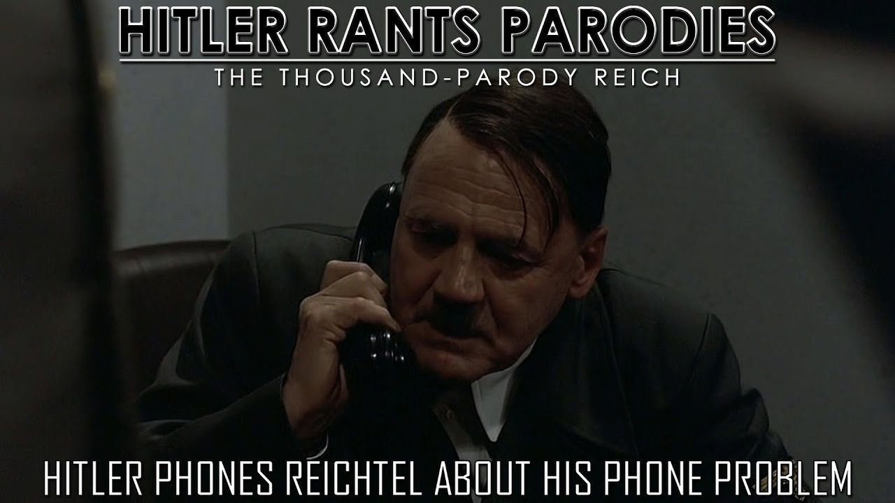 Hitler phones Reichtel about his phone problems
