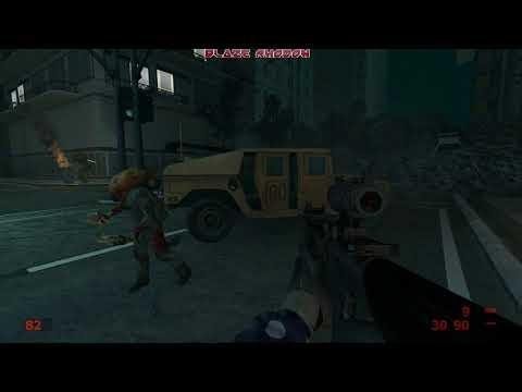 Hunt Down the Freeman Walkthrough Part 1 (without cutscenes)