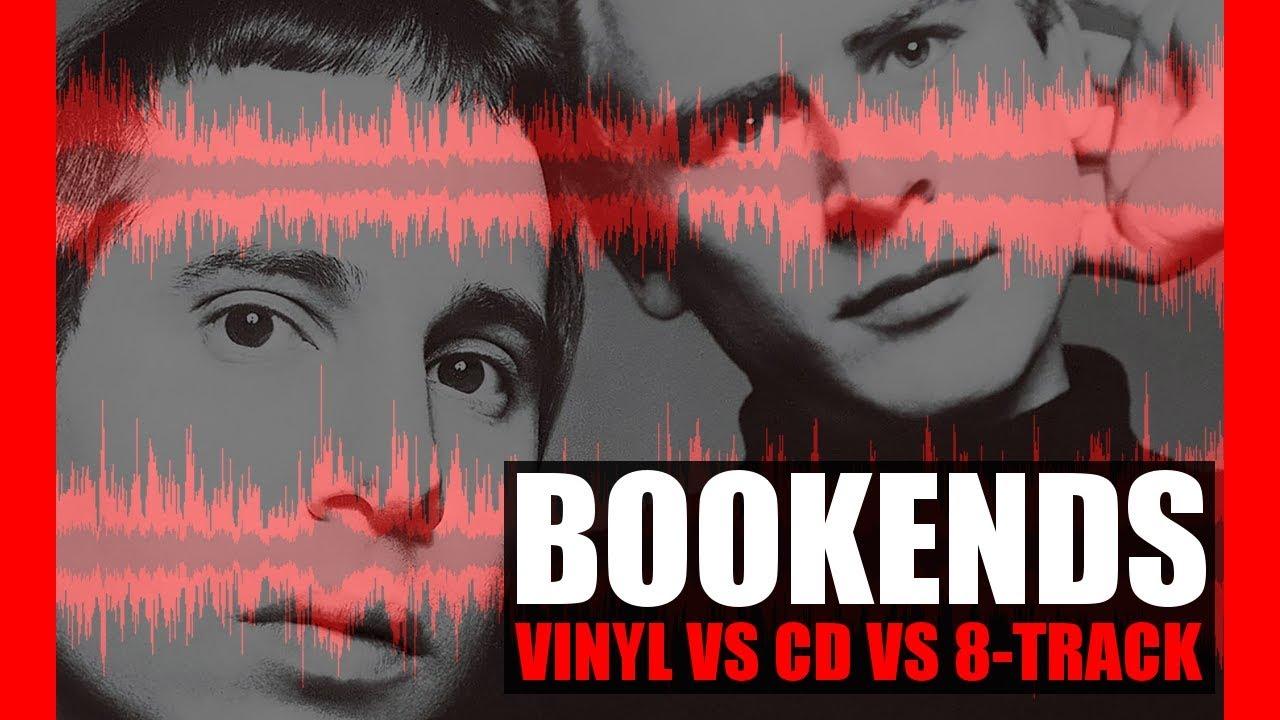 bookends vinyl vs cd vs 8 track youtube. Black Bedroom Furniture Sets. Home Design Ideas