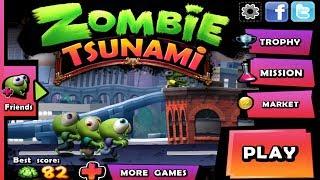 Супер платформер Zombie Tsunami: обзор новогодней версии игры для Android(Zombie Tsunami установить бесплатно https://play.google.com/store/apps/details?id=net.mobigame.zombietsunami&hl=ru Скачать бесплатно ..., 2013-12-30T01:09:37.000Z)