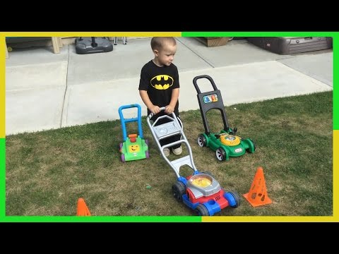 Toy Lawn Mowers Little Tikes Gas N Go Mower Bubble