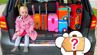 Five Kids A lot of suitcases Song Children's Songs