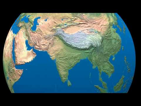 Ice Age Ocean Levels For Reference Youtube