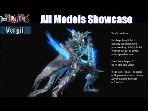 DMC5 All Models Unlocked Showcase - Devil May Cry 5 2019 thumbnail
