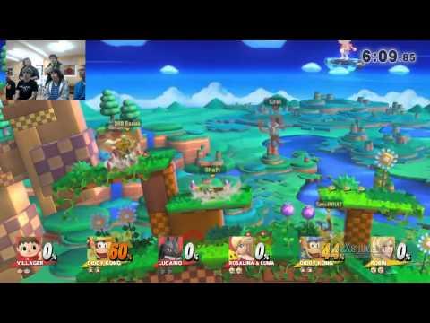 [Smash 4] It's Legal (Croi/Drake/lambnadr) vs Hos, Pimps and Chimps (Aedre/Raziek/Shaft)