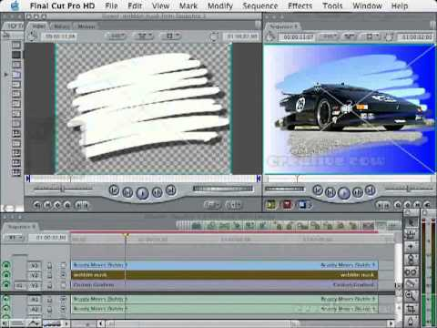 Travel Mattes In FCP: Part Two, Adding Animation And Drop Shadows