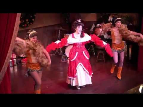 Calico Saloon Christmas Show at Knott's Merry Farm 2017