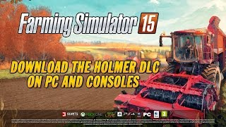 Farming Simulator 15 - HOLMER DLC Launch Trailer