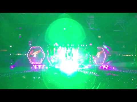 Paradise - Coldplay - Brisbane