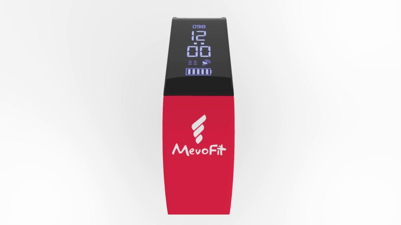 MevoFit Drive - Health Fitness Band, Smart Watch, Sleep & Activity Tracker