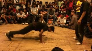 Bboy Show-rez vs Bboy Blade(Firing Shooz,Punjub) | Sweat It Out Delhi