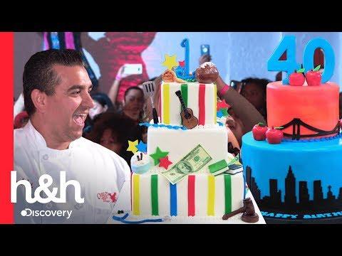 Los mejores pasteles de cumpleaños   Cake Boss   Discovery H&H