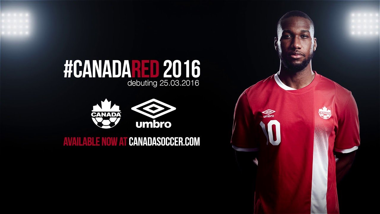 Canada Soccer And Umbro Canada Unveil New Canada Home Kit