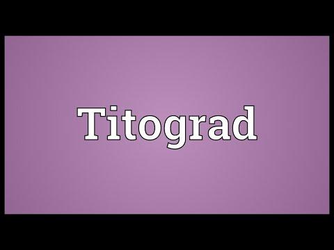 Header of Titograd