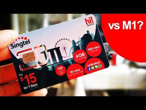 Singtel Prepaid Tourist SIM Review - Better Than M1s?