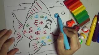 Draw For Kids - ca boi
