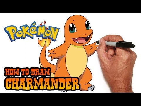 How To Draw Charmander   Pokemon