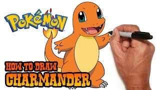 How to Draw Charmander- Pokemon- Video Lesson(Join the Club! SUBSCRIBE Today! New Lessons Monday to Friday. https://www.youtube.com/user/cartooning4kids By SUBSCRIBING you become an official ..., 2015-06-30T07:35:06.000Z)
