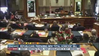 State Republican lawmakers prepare new fetal homicide bill
